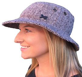 Funnel Web Headwear - English Tweed Hats